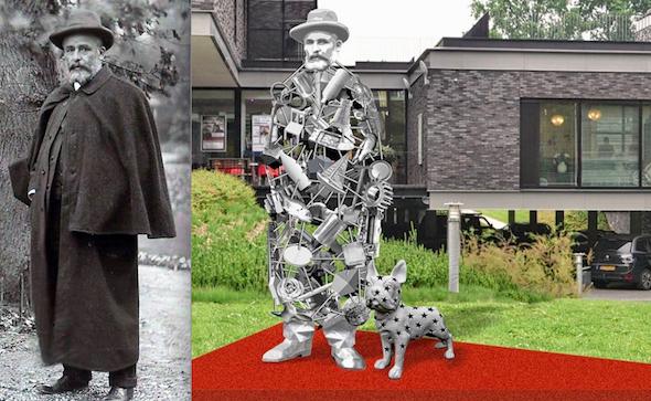 Qkunst Nunspeet Molijn Nicolas Dings Van den Broek Lohmanfonds kunst in de openbare ruimte persbericht redactie Véronique Baar