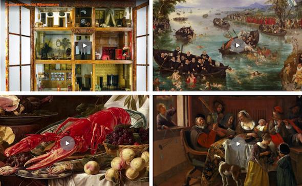 Rijksmuseum lesmateriaal beeldende vorming Praxisbulletin educatie kunsteducatie basisonderwijs museumlessen